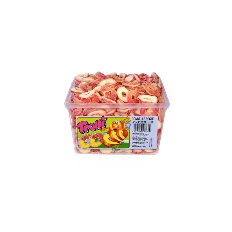 Bonbons Trolli Rondelles Pêche