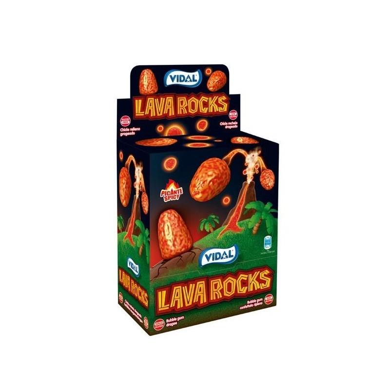 Bubble Gum Lava Rocks