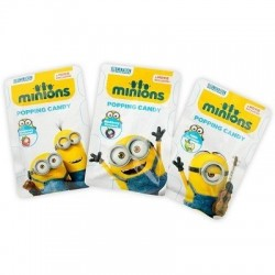 Sucettes Popping Candy Minions