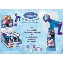 Ventilateur Reine des Neiges avec Bonbons
