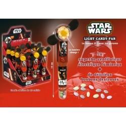 Ventilateur Electrique Lumineux Star Wars avec Bonbons