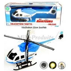 Hélicoptère Tirette Sons et Lumières
