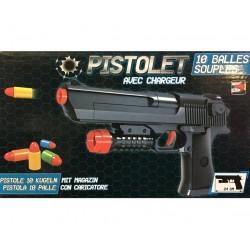 Pistolet avec Balles en Mousse