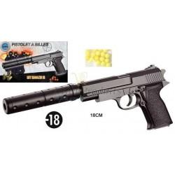 Pistolet à Billes Silencieux
