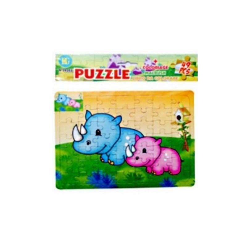 Puzzle et Coloriage