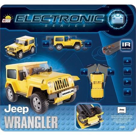 Voiture Radio Télécommandée Jeep à Assembler