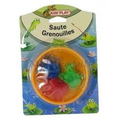 Jeux du Saute Grenouille