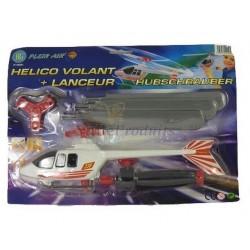 Hélicoptère Avec Lanceur