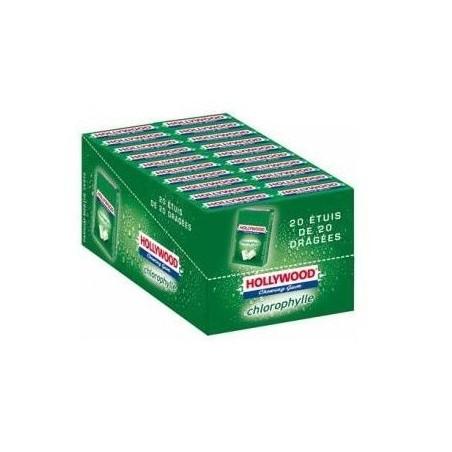 Hollywood Chewing Gum Chlorophylle en Dragées