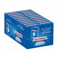 Hollywood Chewing Gum Menthol en Dragées