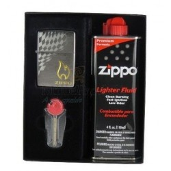 Coffret Cadeau Briquet Zippo Checkered Flag