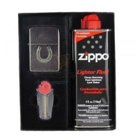 Coffret Cadeau Briquet Zippo Fer à Cheval