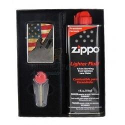 Coffret Cadeau Briquet Zippo Fender Guitar