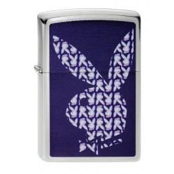 Coffret Cadeau Briquet Zippo Playboy Violet