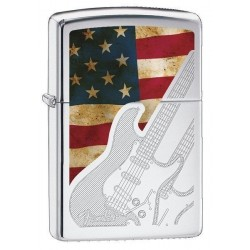 Briquet Zippo Fender Guitar