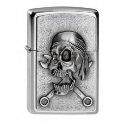 Briquet Zippo Mechanic Skull