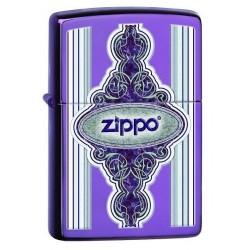 Coffret Cadeau Briquet Zippo Vintage Violet