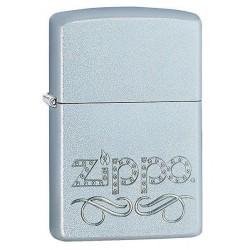 Coffret Cadeau Briquet Zippo Chrome Brossé