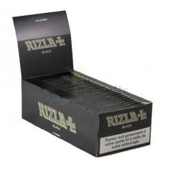 50 Carnets de Feuille à Rouler Regular Rizla Black