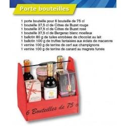 Panier Gourmand Porte Bouteilles