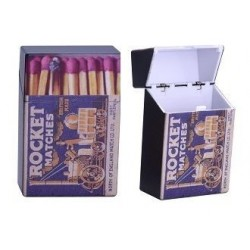 Etui Paquet de Cigarettes Allumettes