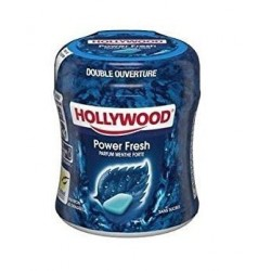 Bottle Hollywood Chewing Gum Power Fresh