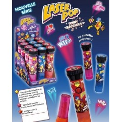 Sucettes Laser Pop
