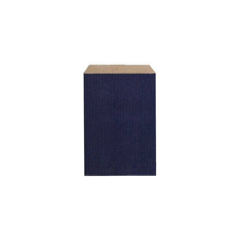 Pochette Cadeau Kraft Bleue 48 cm