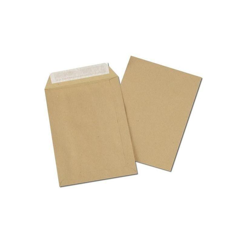 10 Enveloppes Kraft Auto Adhésives 22 x 32 cm