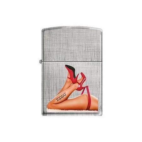 Coffret Cadeau Briquet Zippo Red Shoes