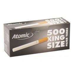 500 Tubes à Cigarette Atomic x 4