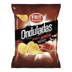 Chips Ondulée Saveur Jambon Frit Ravich