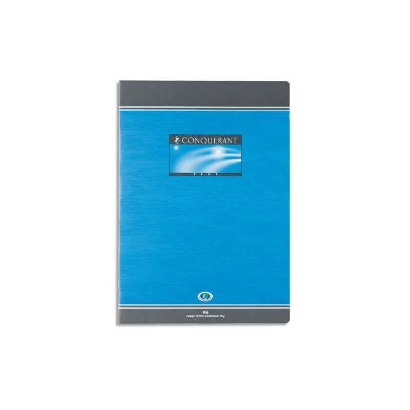 Cahier de Devoir 96 Pages Grands Carreaux