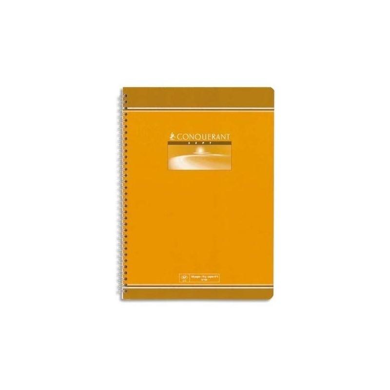 Cahier de Devoir à Spirales 100 Pages Petits Carreaux