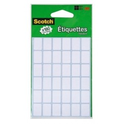 Etiquettes Scotch 12 x 19 mm
