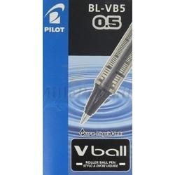 Stylo Pilot Noir Roller Encre Liquide Vball 05