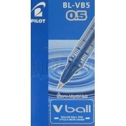 Stylo Pilot Bleu Roller Encre Liquide Vball 05