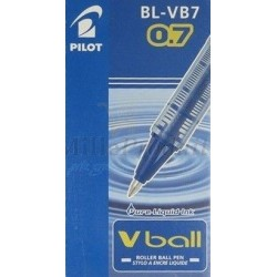 Stylo Pilot Bleu Roller Encre Liquide Vball 07