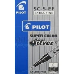 Feutre Marqueur Pilot Super Color Argent