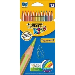 Crayons de Couleurs Bic Kids