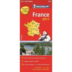 Carte Michelin France Entière