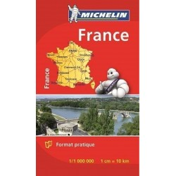 Mini Carte Michelin France Entière