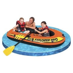 Bateau Gonflable Intex Set Explorer Pro 200