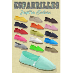 Espadrille Just in Colors