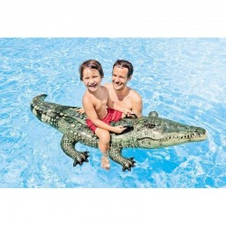 Crocodile Chevauchable Réaliste Intex