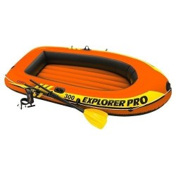 Bateau Gonflable Intex Set Explorer Pro 300