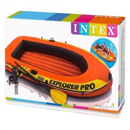 Bateau Gonflable Intex Set Explorer Pro 300