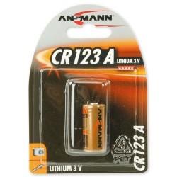 Pile CR123A Ansmann