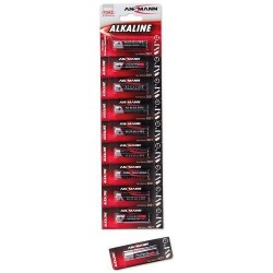 10 Piles LR03 AAA Ansmann
