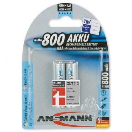 Pile LR03 AAA Rechargeable Ansmann